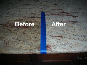 how to remove stains from granite with granite poultice