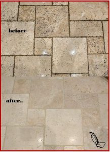 Connoisseur offers a variety of tile, stone, grout and caulking repairs
