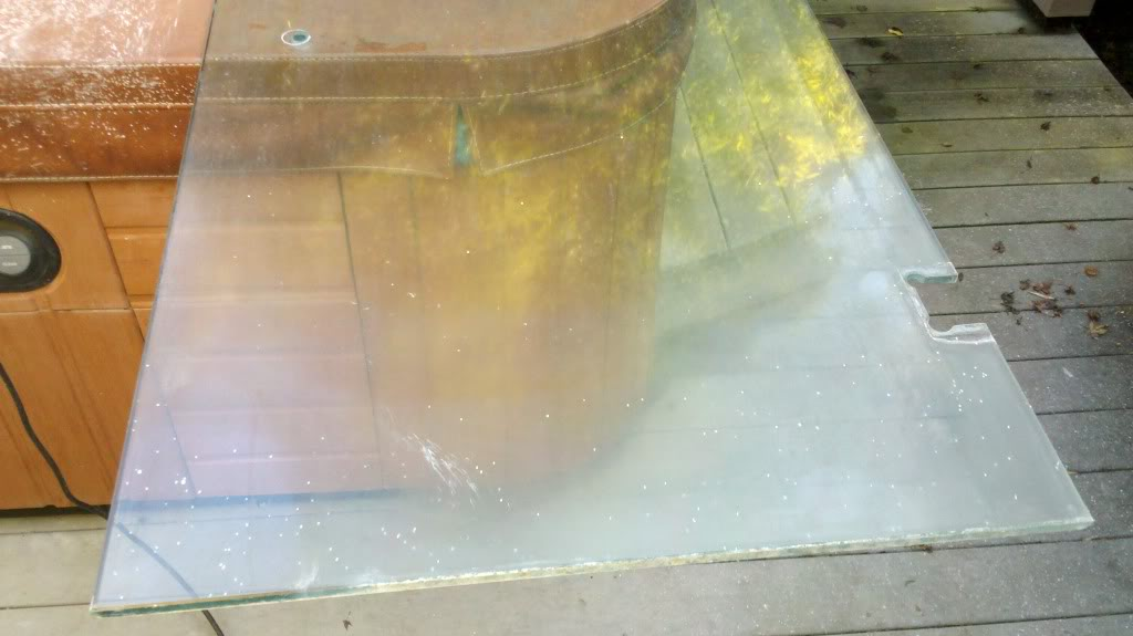 Hard Water staining on your shower doors?