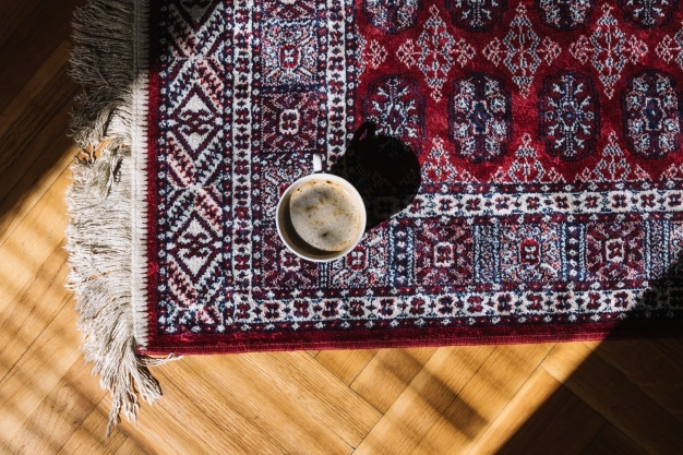 Removing coffee and tea spills from carpet and textiles